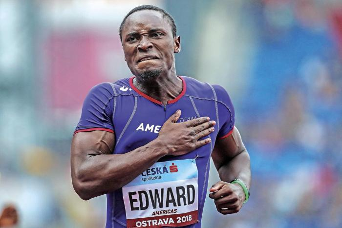 Alonso Edward compite hoy en el Mundial 2019