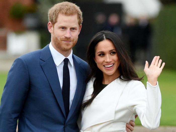 Las claves del posado oficial del príncipe Enrique y Meghan Markle