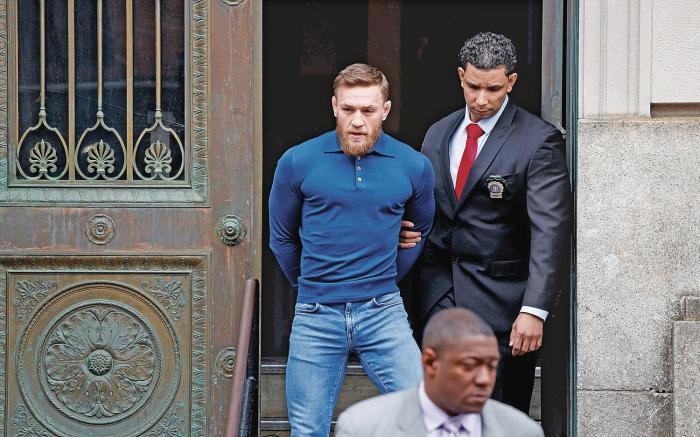 Conor McGregor es acusado de golpear a una persona en Dublin