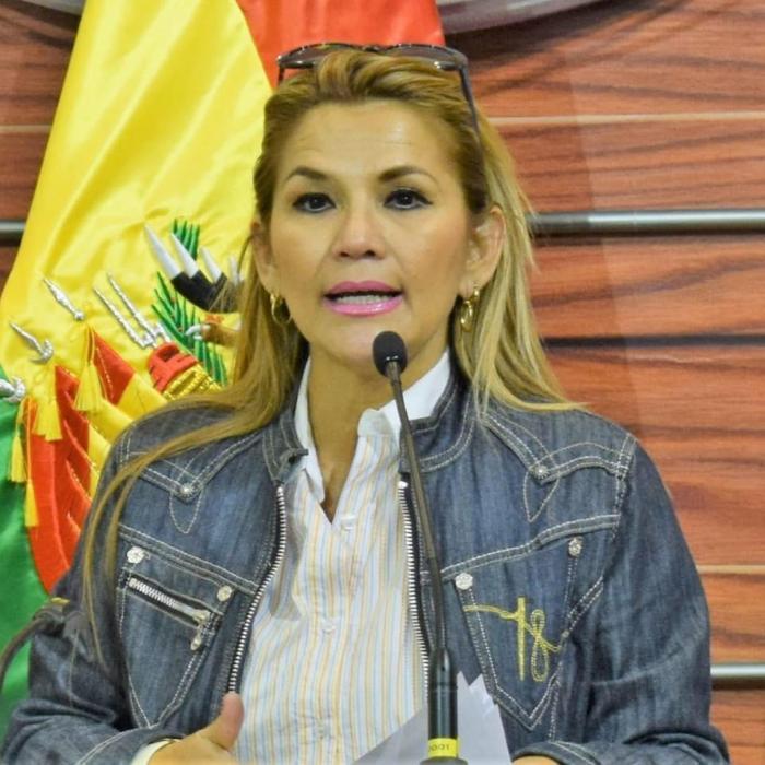 Segunda vicepresidenta del Senado de Bolivia, Jeanine Áñez