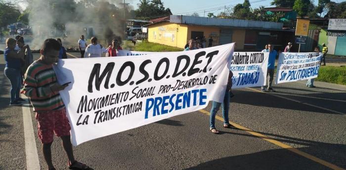 Protestas Colón
