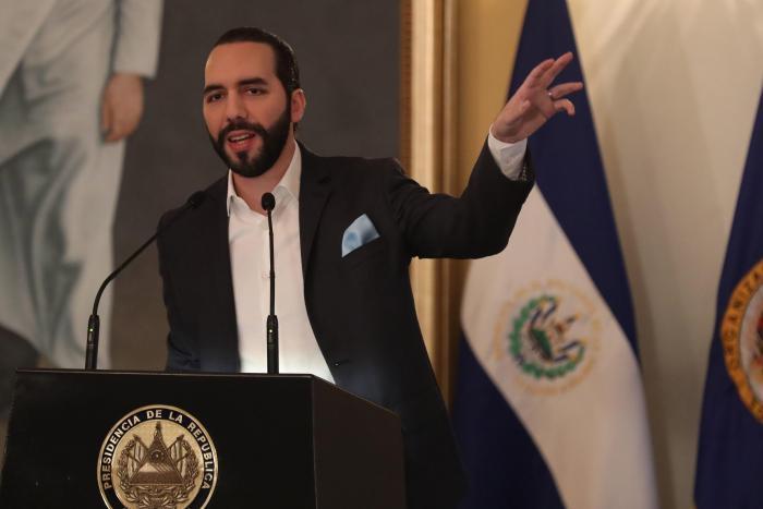 Presidente de El Salvador, Nayib Bukele