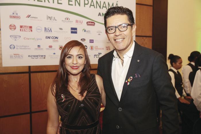 Mirian Brenes y Luis Fernando González