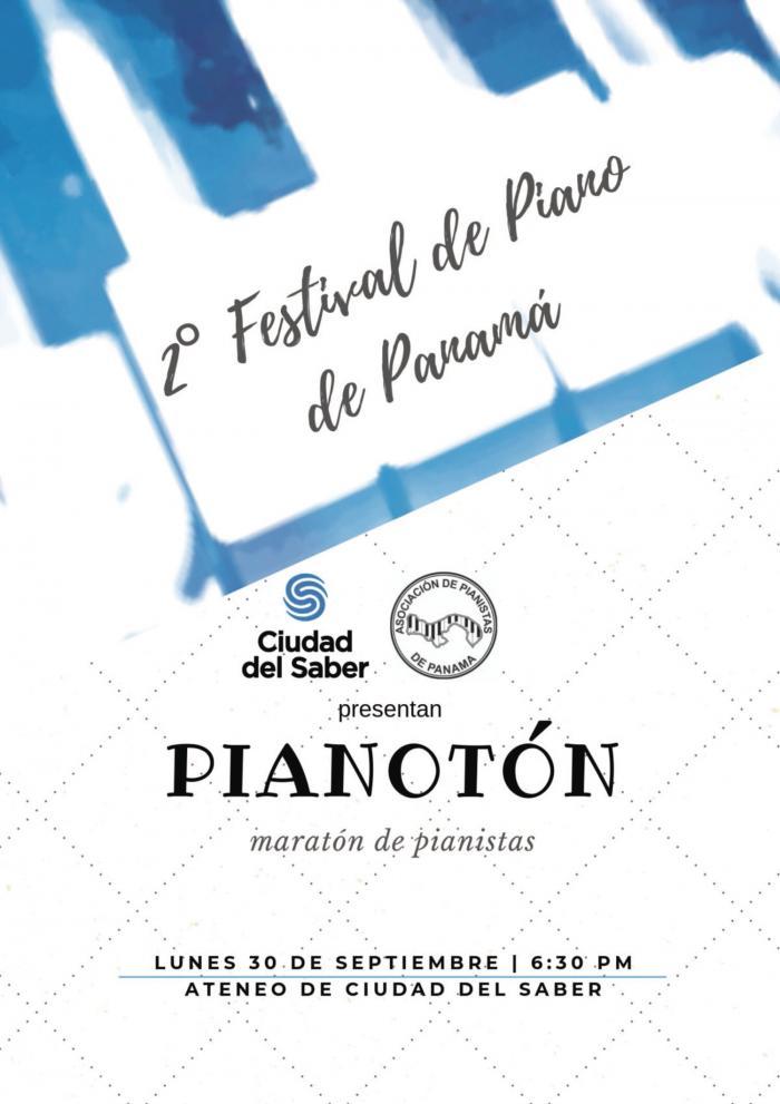 El 2° Festival de Piano de Panamá