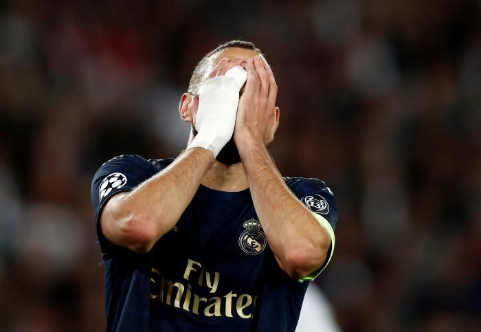 Hazard, que debutaba en la Liga de Campeones, apenas apareció y Karim Benzema, en plena racha, no fue el salvador en esta ocasión