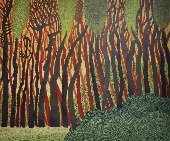 Pintura de Guillermo Trujillo.