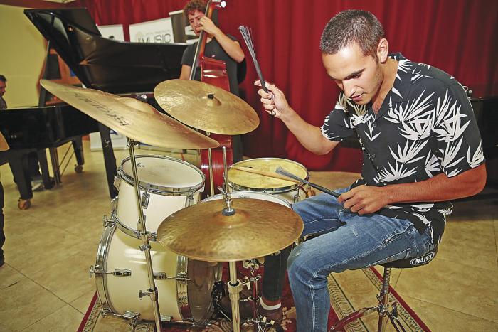 Un encuentro del jazz con la música africana en Medio Oriente