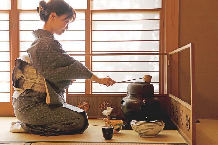 Lección del té y la sensibilidad de lo efímero