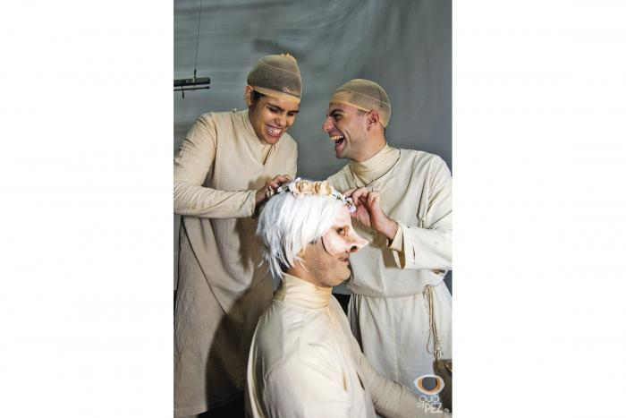 Teatro de máscaras, máxima expresión corporal