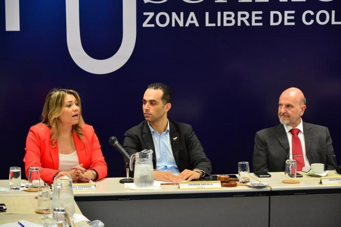 Ministra de Trabajo, Doris Zapata