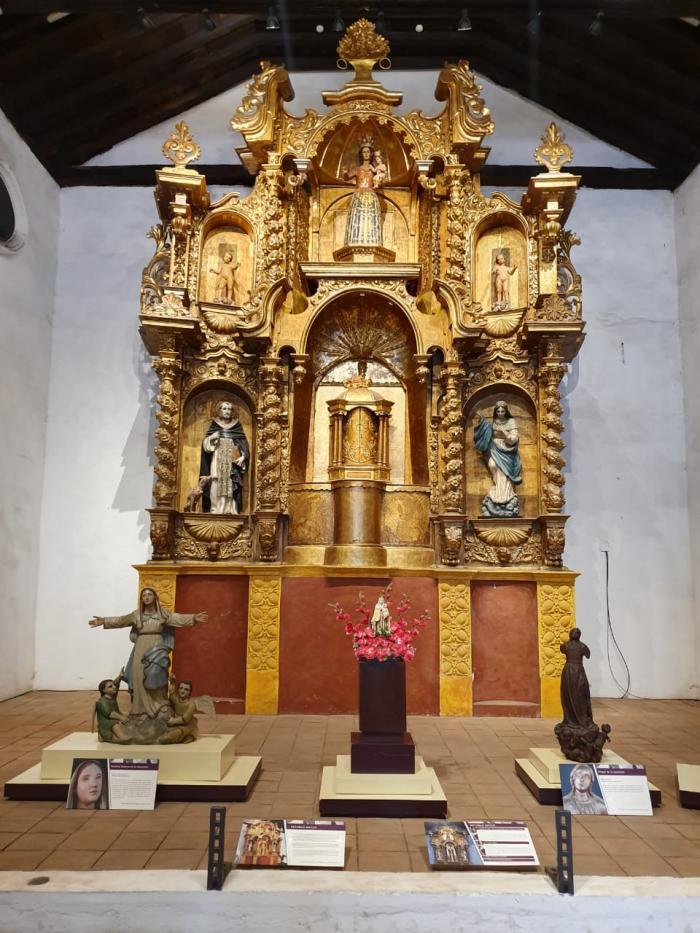 Altar Mayor de la iglesia de Santo Domingo de Guzmán