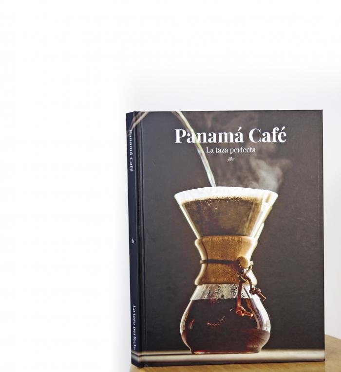 Un libro para el café de Panamá