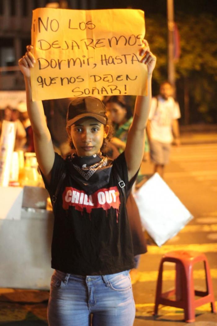 Estudiantes y jóvenes protestas reforma constitucional