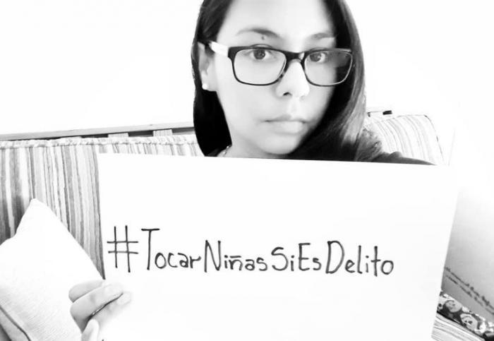 Campaña #TocarNiñasSíEsDelito