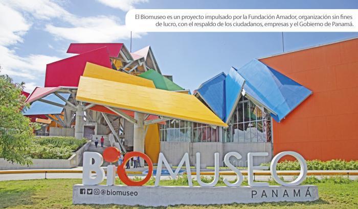En total, el Biomuseo cuenta con 432 paneles solares que generan 156,000 kWh al año.