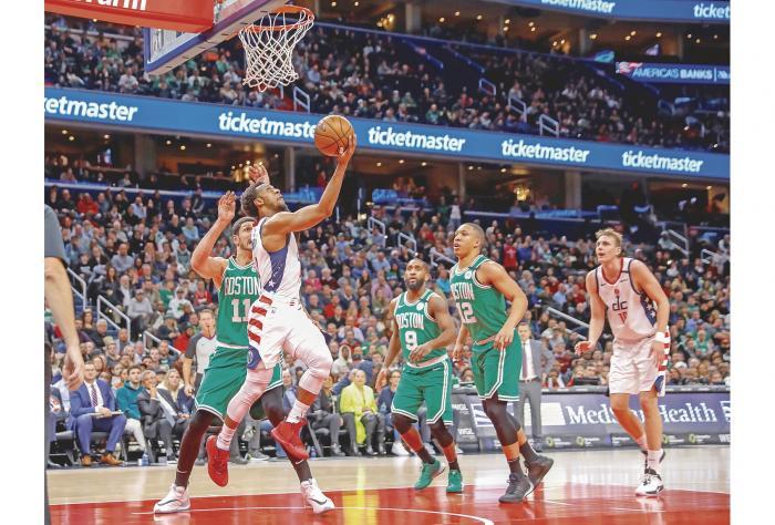 Los Wizards vencen y destronan a los Celtics 0