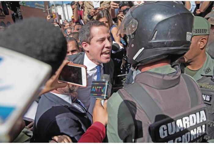 Venezuela_ caos y violencia en sesiones parlamentarias 0