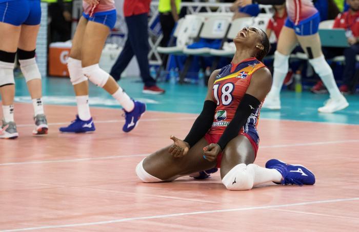 Jugadora de república dominicana