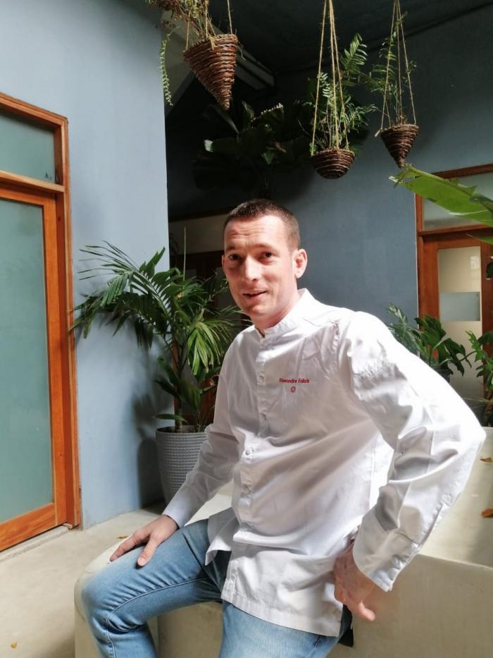 Chef francés Alexandre Fabris