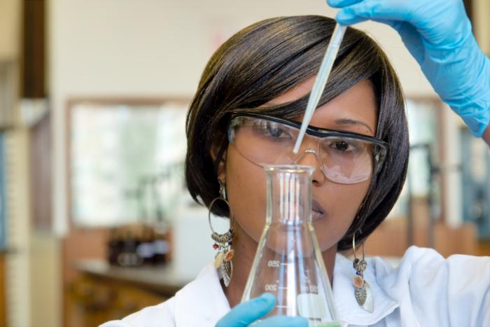 mujer ciencia