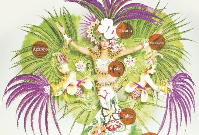 Creatividad e historia se fusionan en el Carnaval 0