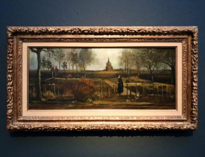El cuadro 'Jardín de Primavera' (1884) fue sustraído este lunes, según reportes de