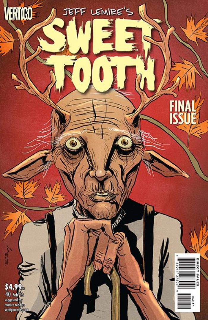 Comic de 'Sweet Tooth'.