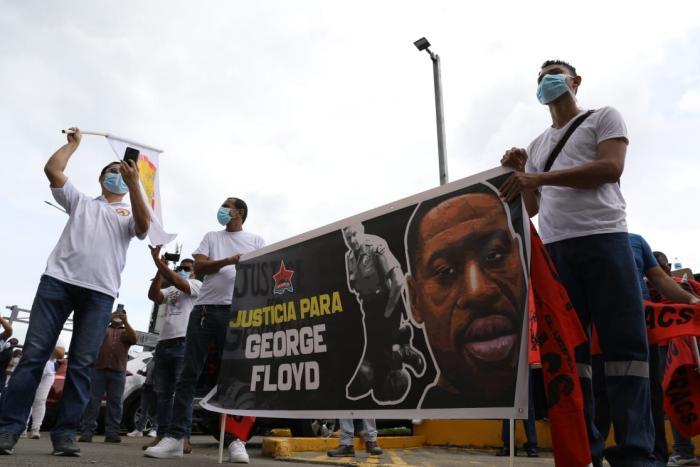 Protestas Panamá George Floyd