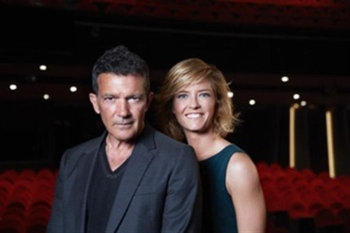 Imagen cedida por el Teatro del Soho CaixaBank de Antonio Banderas y María Casado.