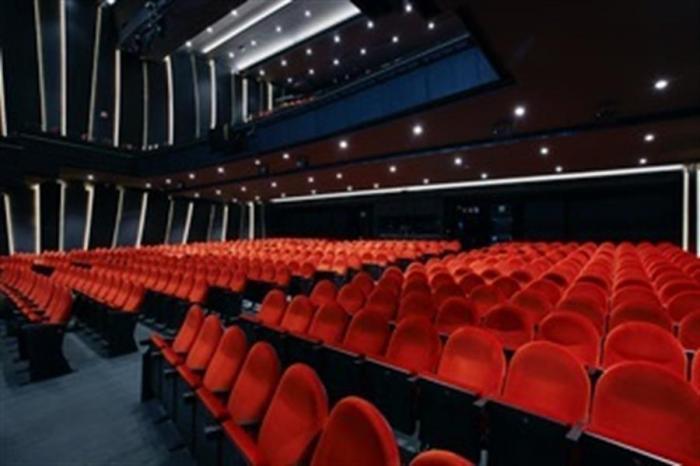 Imagen cedida por el Teatro del Soho CaixaBank del patio de butacas.