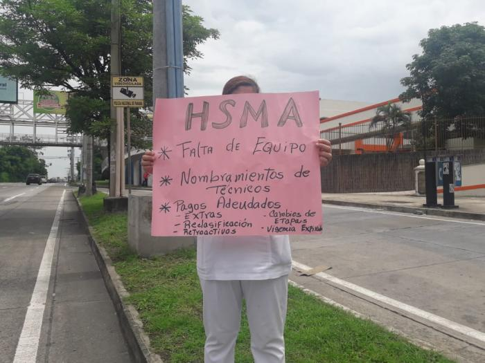 Personal de salud del HISMA