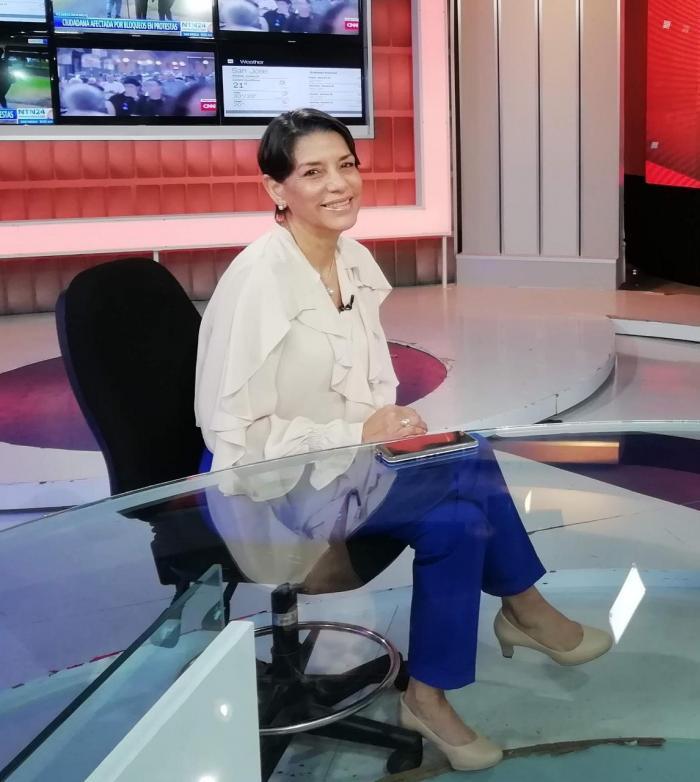 Lourdes Pérez, gerente de Exportaciones de Propanama