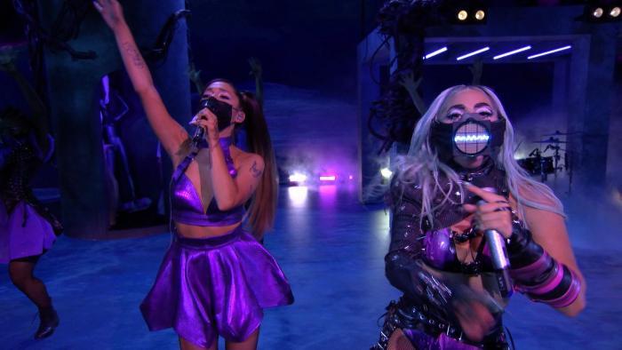 Lady Gaga y Ariana Grande