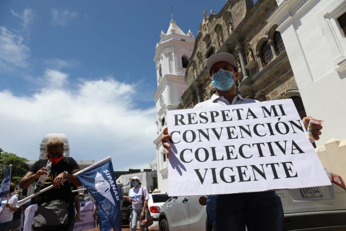 Protestas de trabajadores de Copa, Fenatia