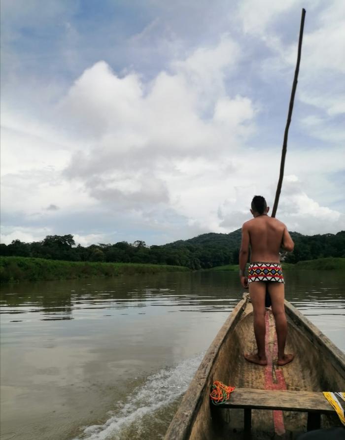 Por el río Chagres