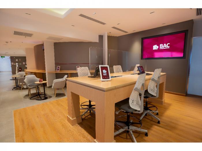 Nueva Sucursal Innovadora de BAC Credomatic, Mall Multiplaza