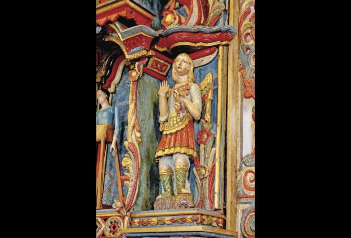 Historia en altares iglesia de San Francisco de la Montana 2