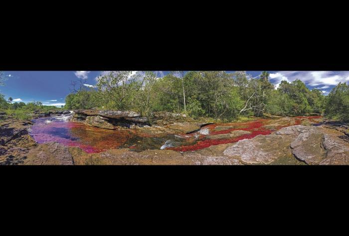 El Guaviare donde hay delfines rosados y rios de colores
