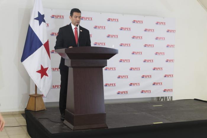 El presidente reelecto de Apex, Roberto Tribaldos.