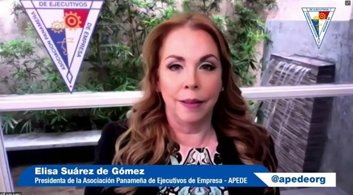 La presidenta de la Apede, Elisa Suárez.