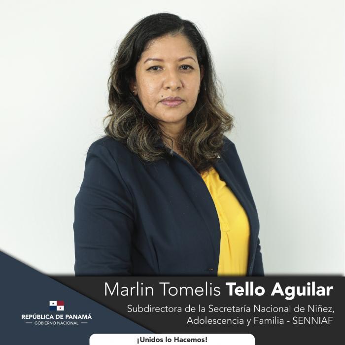 Cortizo Cohen designó además a  Marlin Tomelis Tello Aguilar como Subdirectora de la Senniaf