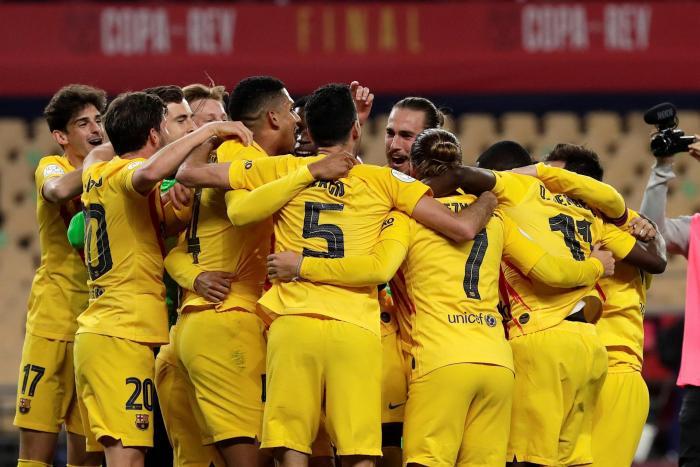 El Barcelona gana con solvencia y brillantez su título número 31 de Copa