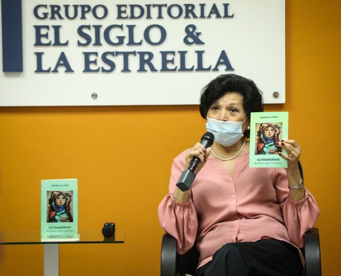 """Griselda López presenta Ultrasonido"""", su nuevo libro de relatos y cuentos"""