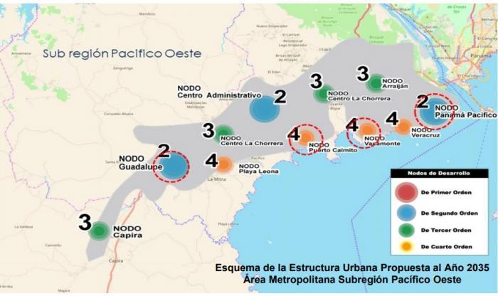Los distritos de Panamá Oeste se desarrollan urbanísticamente bajos normas de hace 40 años