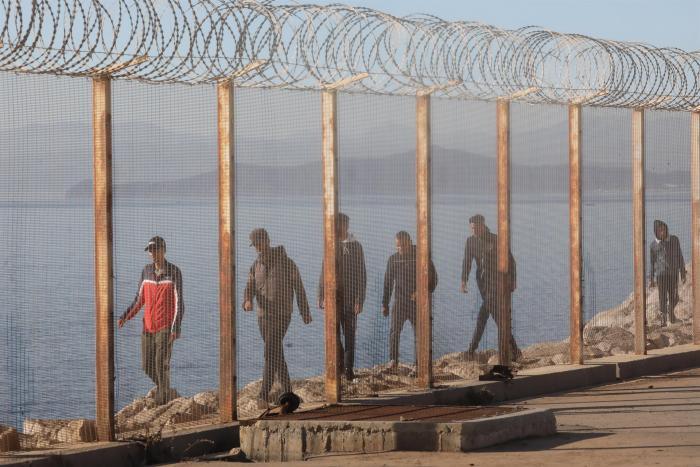 El éxodo masivo de migrantes desde Marruecos hacia Ceuta toca a su fin
