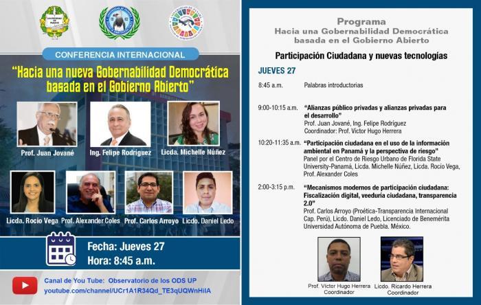 Conferencia Universidad de Panamá