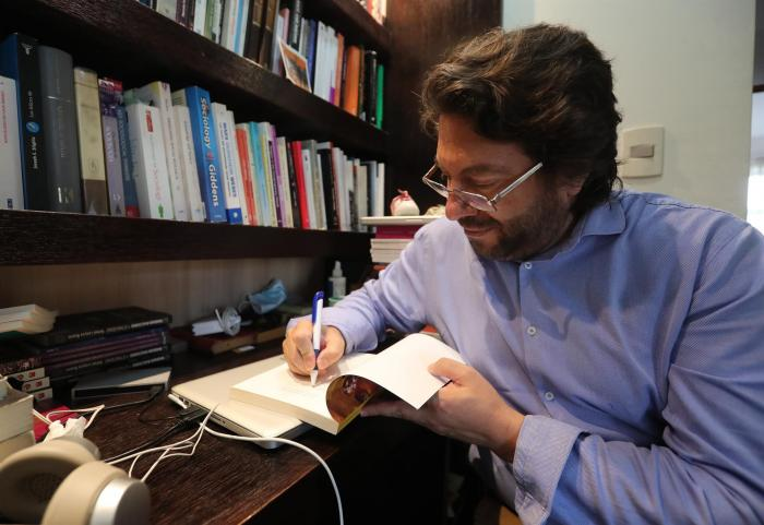 El investigador Rafael Loayza.