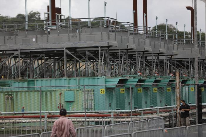 Planta termoeléctrica en Santa Rita, Colón