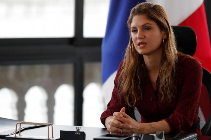 La canciller de Panamá, Erika Mouynes.