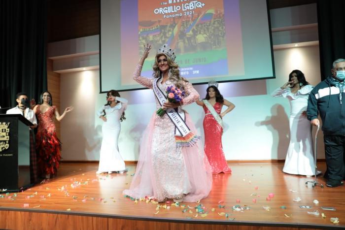 Marcha del orgullo LGBTQ+ Panamá 2021